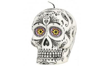 Świeca czaszka meksykańska...