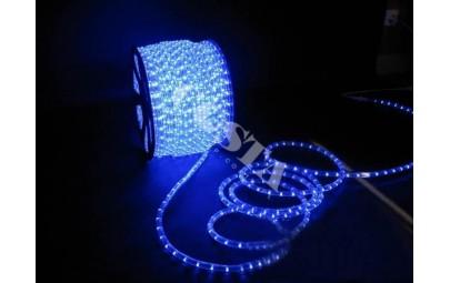Wąż świetlny led niebieski 1mb