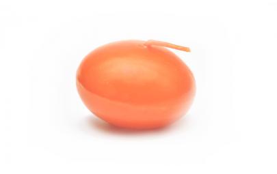 Świeca dysk pływający lakier pomarańczowy 40mm