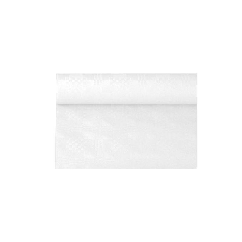Obrus papierowy biały 9x1,2m art.86720