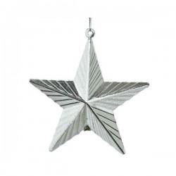 Gwiazda srebrna zawieszka 9,5x9,5cm