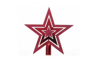 Gwiazda na choinkę czerwona...