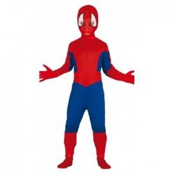 Strój dla dzieci Spiderman roz. dla 10-12latka (kombinezon, kaptur)