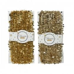 Girlanda na choinkę szampan/złota 3,8x5m
