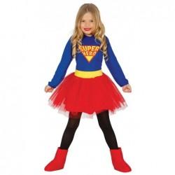 Strój dla dzieci Super Bohaterka roz. dla 3-4latki (sukienka)