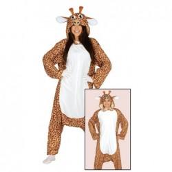 Strój dla doroslych Żyrafa L 42-44 (kombinezon z kapturem)