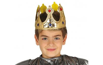 Korona króla dla dzieci złota
