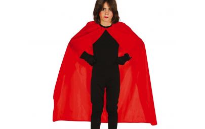 Peleryna czerwona dziecięca 100cm