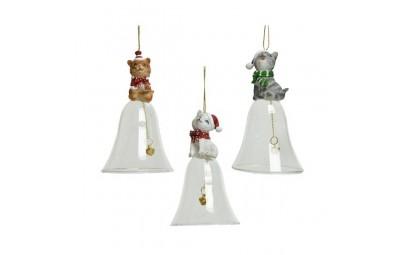 Dzwonek z kotkiem 6,5x11,5cm