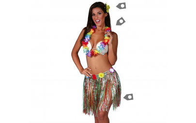 Zestaw hawajski kolorowy...