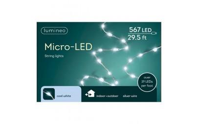 Lampki micro 567 led srebrny/zimny ciepły wew/zew 900cm
