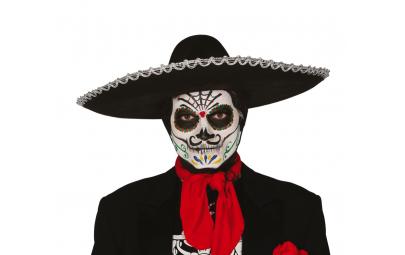 Kapelusz meksykański czarny