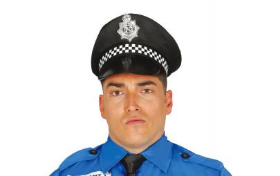 Czapka policjanta czarna