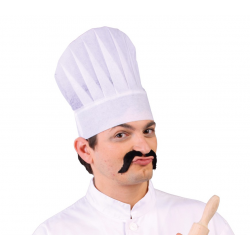 Czapka szefa kuchni papierowa