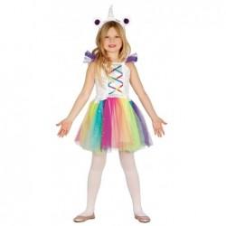 Strój dla dzieci Dziewczynka Jednorożec 5-6 lat (opaska, suekienka)