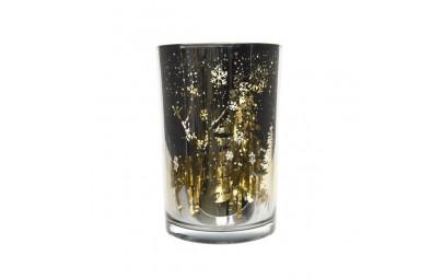 Świecznik szklany...
