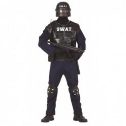 Strój dla dorosłych SWAT M...