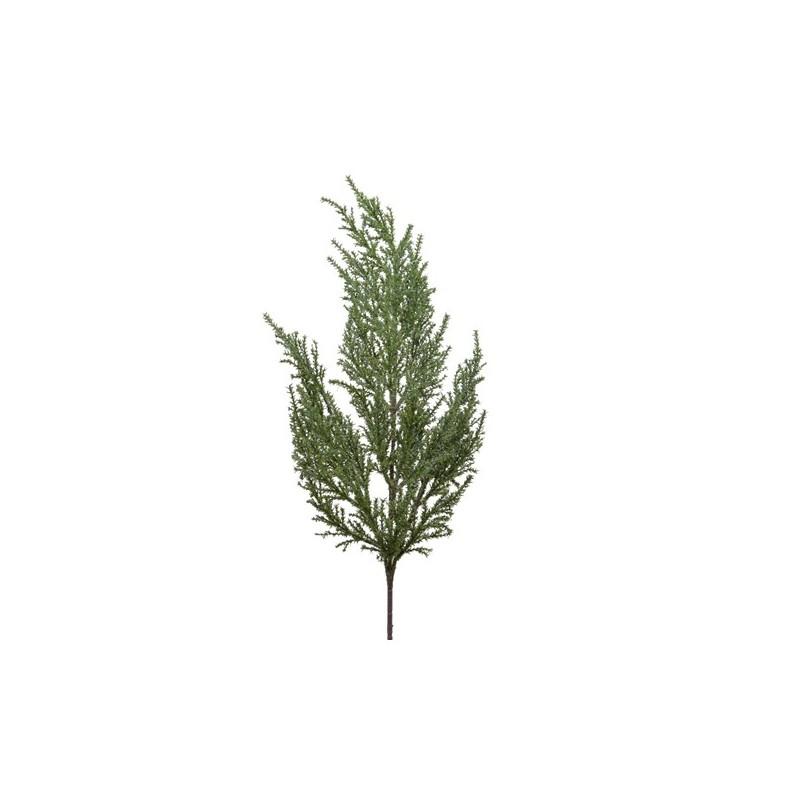 Gałązka ozdobna iglasta zielona 70cm