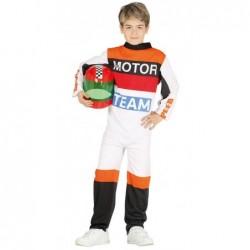 Strój dla dzieci Pilot motocyklowy roz. dla 5-6latka (kombinezon)