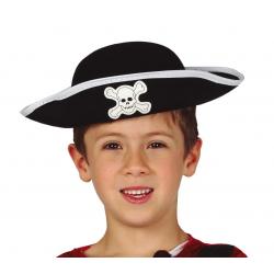 Kapelusz pirata czarny z...