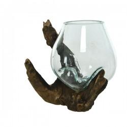 szklany wazonik okładka