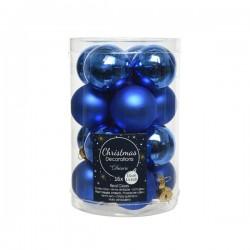 Bombka szklana niebieska...