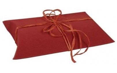 Pudełko ozdobne czerwone z...