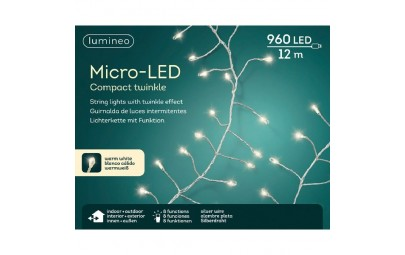 Lampki micro 960 led...