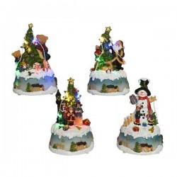 Figura led bożonarodzeniowa 10,5x9x15,5cm (multikolor)