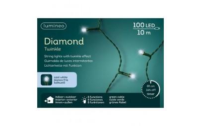Lampki 100 led zew/wew z...