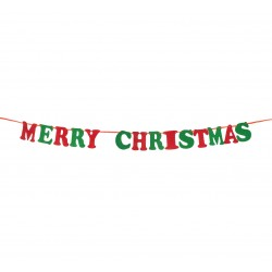 Girlanda filcowa Merry Christmas 2,5m