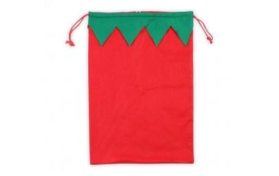 Worek Świąteczny Elf 35x50cm
