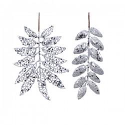 Gałązka srebrna 2 wzory 12x20cm ,7x20cm