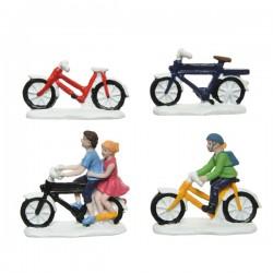 Figurki rowery holenderskie...