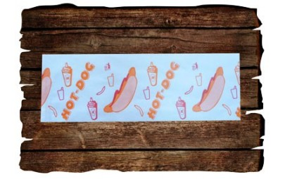 Torba hot-dog kolor 200 szt.