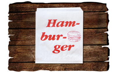 Torba papierowa hamburger...