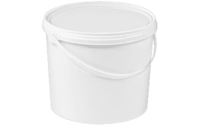 Wiadro białe 5L z plombą