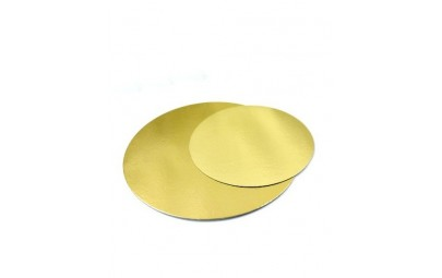 Podkład pod tort złoty...
