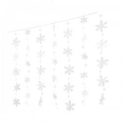 Girlanda płatki śniegu led 120x75x36L