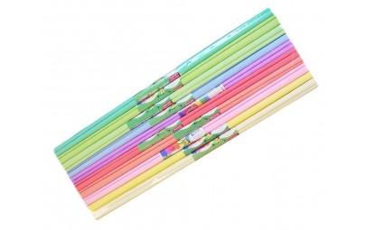 Bibuła pastelowa mix 200x50cm