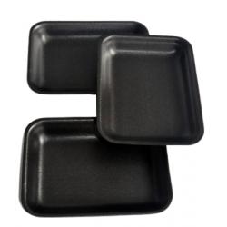 Tacka styropianowa czarna 70.09 183x138x17mm 1100 szt.