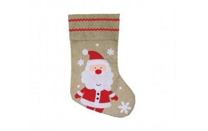 Skarpeta świąteczna Mikołaj