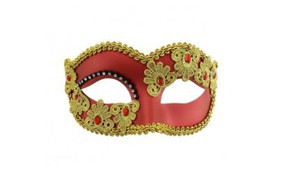 Maska dama miedziana