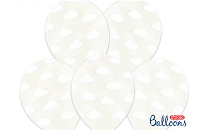 Balon 30cm chmurki