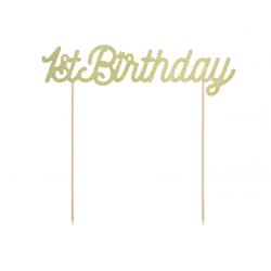 Topper na tort 1st Birthday...