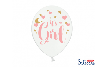 Balon 30cm It's girl...