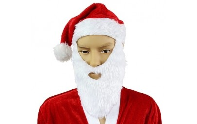 Czapka Mikołaj z brodą i...