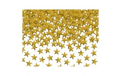 Konfetti gwiazdki złote...