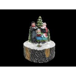 Figura led bożonarodzeniowa 9x9x10cm (multikolor)