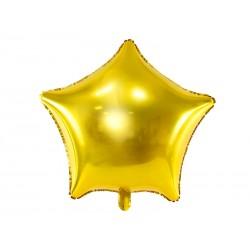 Balon foliowy gwiazdka złota 70cm